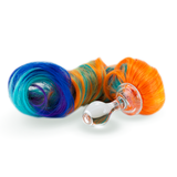 Pony Tail Plug 5-color with Glass Plug Detachable