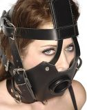 Premium Muzzle with Open Mouth Gag